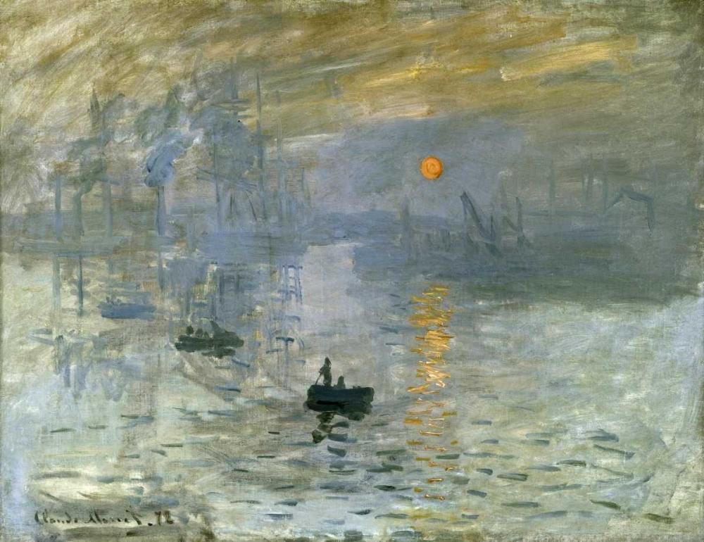 konfigurieren des Kunstdrucks in Wunschgröße Impression: Sunrise von Monet, Claude