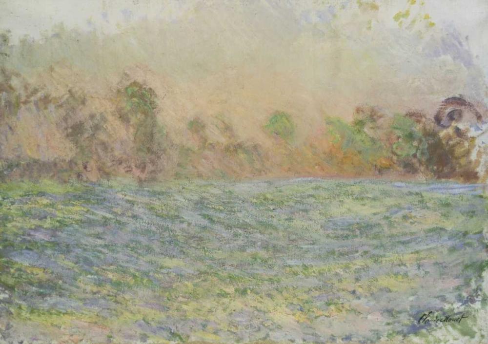 konfigurieren des Kunstdrucks in Wunschgröße La prairie de Limetz, pres de Giverny von Monet, Claude