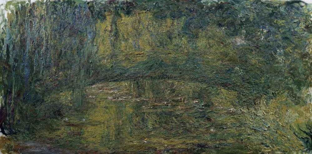 Le Pont japonais II von Monet, Claude <br> max. 122 x 58cm <br> Preis: ab 10€