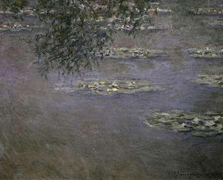 konfigurieren des Kunstdrucks in Wunschgröße Nympheas (Water Lilies) von Monet, Claude