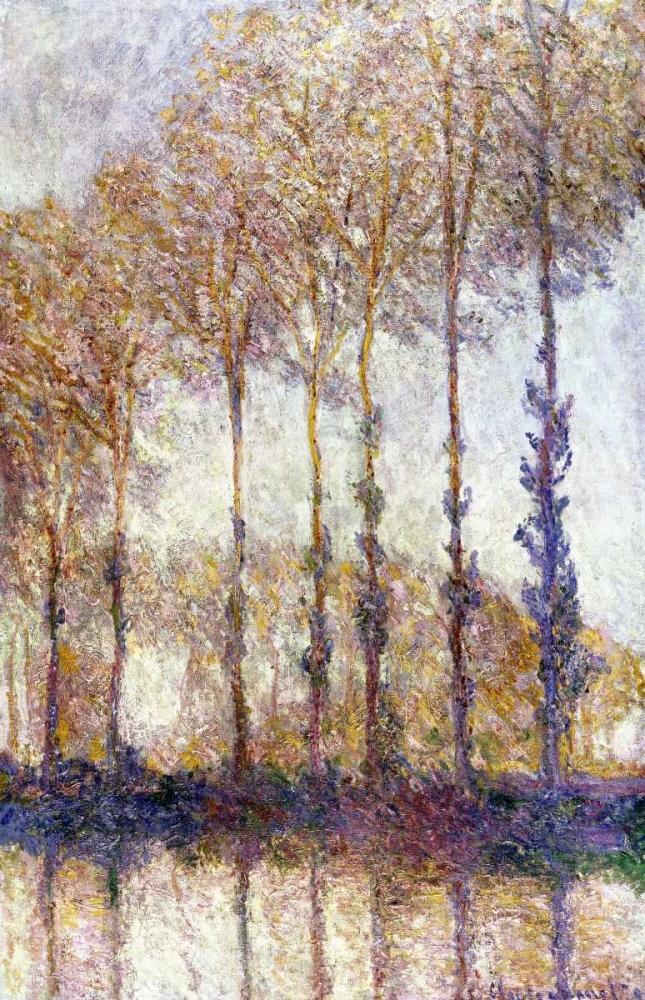 konfigurieren des Kunstdrucks in Wunschgröße Poplars von Monet, Claude