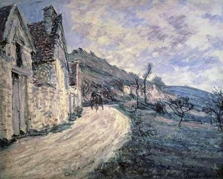 konfigurieren des Kunstdrucks in Wunschgröße Rocks at Falaise, near Giverny von Monet, Claude