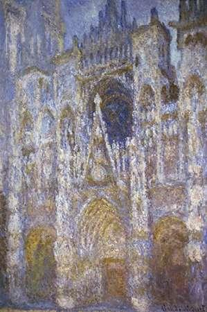 konfigurieren des Kunstdrucks in Wunschgröße Rouen Cathedral: The Portal, Morning Sun von Monet, Claude