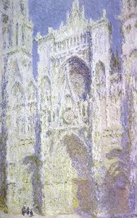 konfigurieren des Kunstdrucks in Wunschgröße Rouen Cathedral: West Facade, Sunlight von Monet, Claude