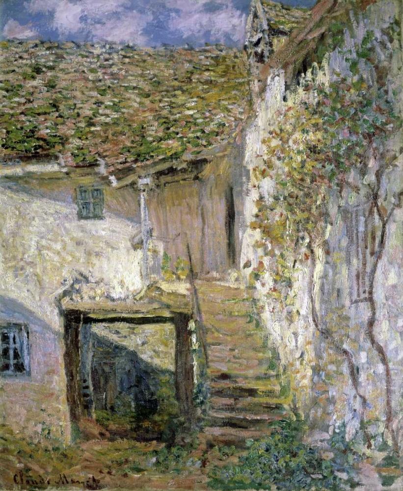 konfigurieren des Kunstdrucks in Wunschgröße The Staircase von Monet, Claude