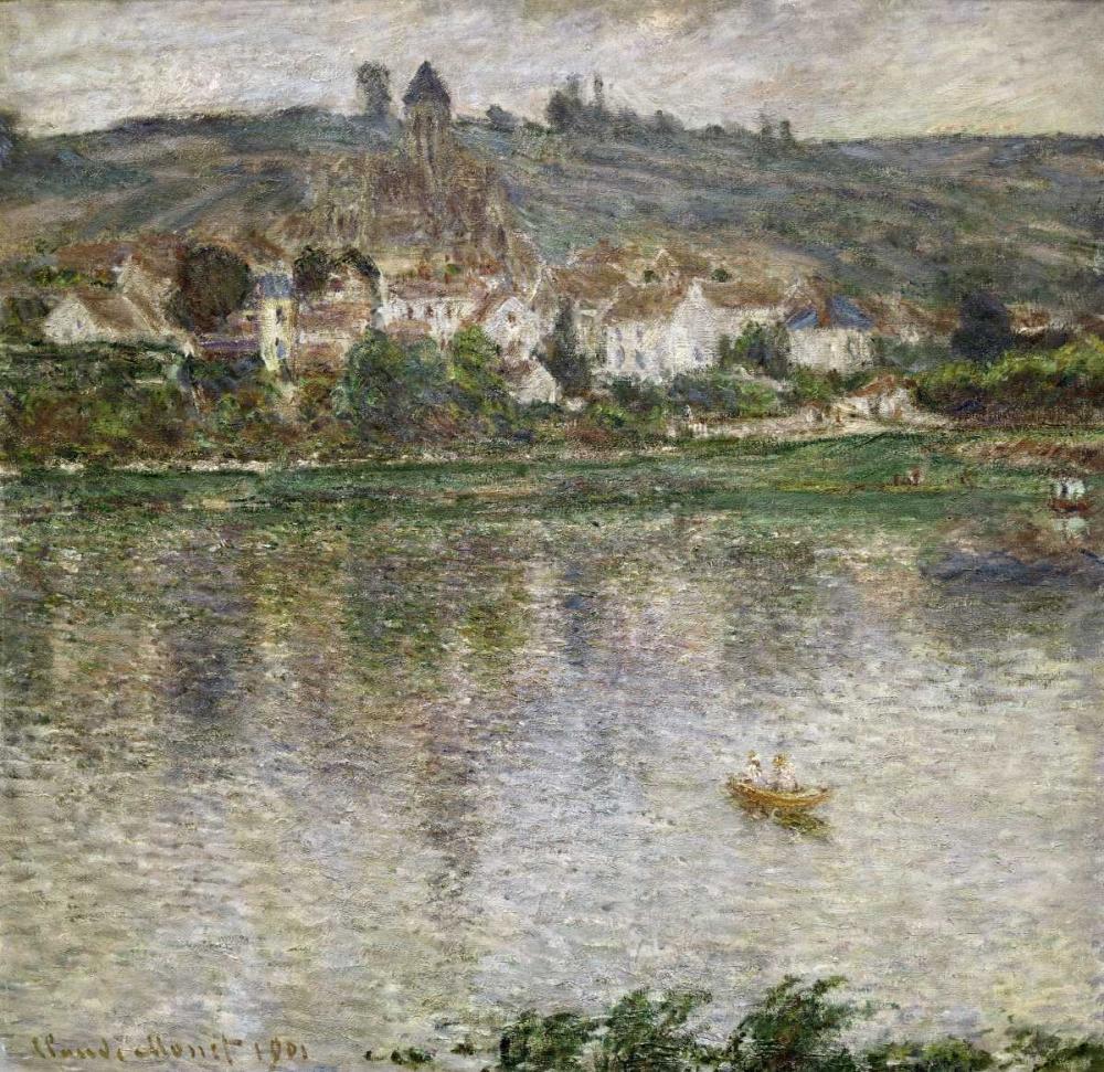 konfigurieren des Kunstdrucks in Wunschgröße Vetheuil von Monet, Claude