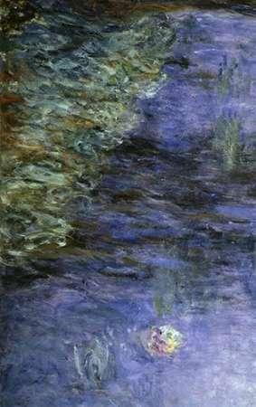 konfigurieren des Kunstdrucks in Wunschgröße Water Lilies (Detail) von Monet, Claude