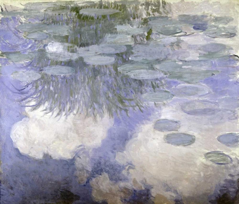 konfigurieren des Kunstdrucks in Wunschgröße Water Lilies - Nymphaeas III von Monet, Claude