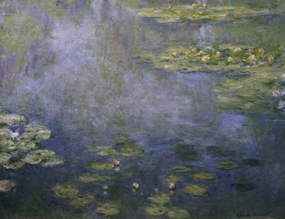 konfigurieren des Kunstdrucks in Wunschgröße Water Lilies - Nympheas IV von Monet, Claude