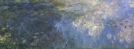 Water Lilies: The Clouds, c. 1914-26 (left panel) von Monet, Claude <br> max. 163 x 61cm <br> Preis: ab 10€
