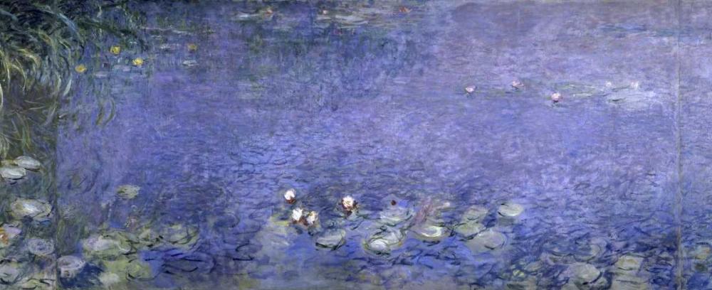 konfigurieren des Kunstdrucks in Wunschgröße Water Lilies - Nymphaeas VI von Monet, Claude