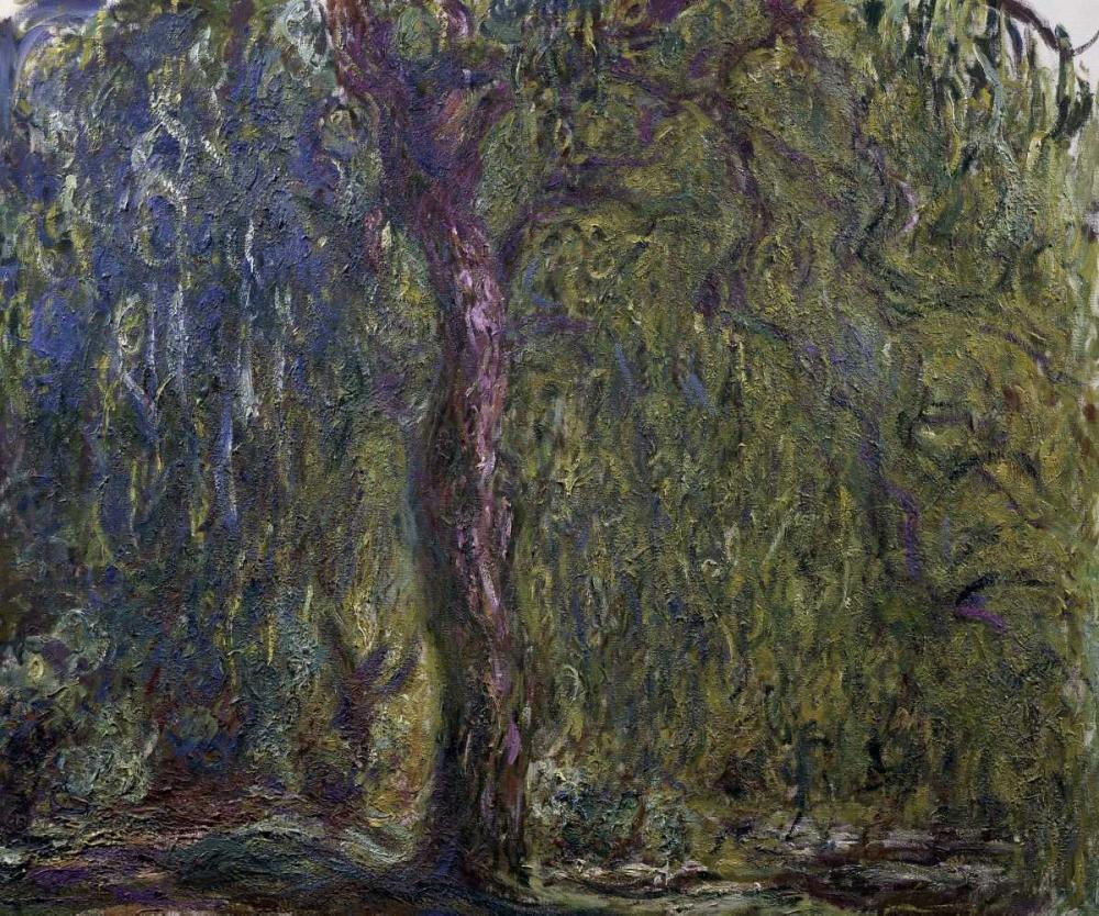 konfigurieren des Kunstdrucks in Wunschgröße Weeping Willow - Saule pleureur von Monet, Claude