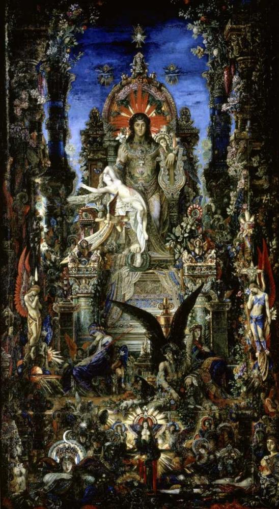 konfigurieren des Kunstdrucks in Wunschgröße Jupiter Et Semele von Moreau, Gustave