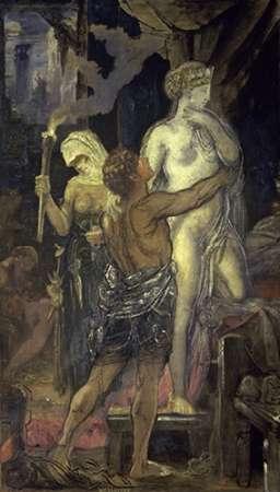 konfigurieren des Kunstdrucks in Wunschgröße Messalina (Messaline) von Moreau, Gustave
