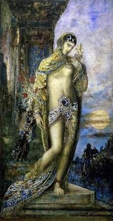 konfigurieren des Kunstdrucks in Wunschgröße Song of Songs (Le Cantique des Cantiques) von Moreau, Gustave