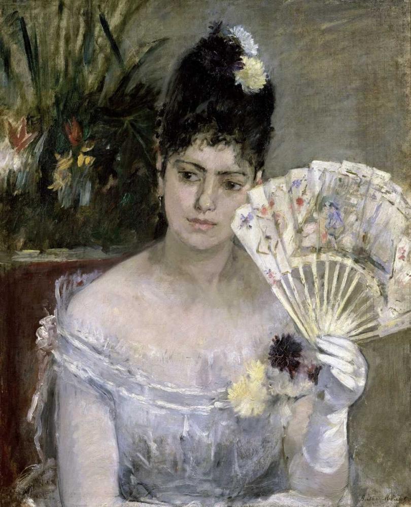 konfigurieren des Kunstdrucks in Wunschgröße Young Lady at a Ball von Morisot, Berthe