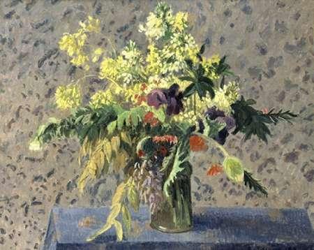 konfigurieren des Kunstdrucks in Wunschgröße Bouquet of Flowers von Pissarro, Camille