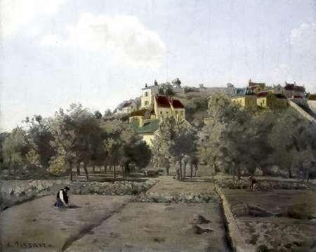 konfigurieren des Kunstdrucks in Wunschgröße Pontoise von Pissarro, Camille