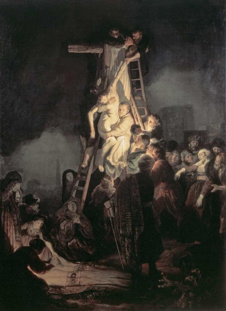 Descent From The Cross von Rembrandt, van Rijen <br> max. 58 x 81cm <br> Preis: ab 10€