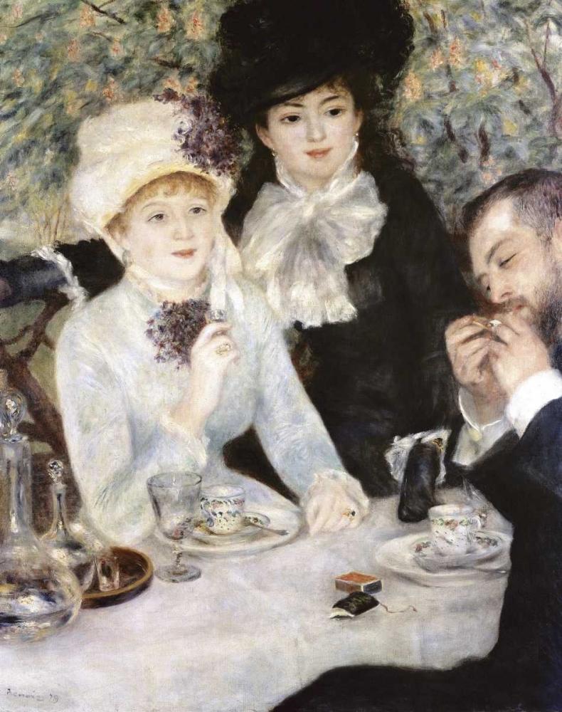 konfigurieren des Kunstdrucks in Wunschgröße After Lunch von Renoir, Pierre-Auguste