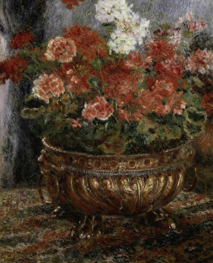 konfigurieren des Kunstdrucks in Wunschgröße Bouquet of Flowers von Renoir, Pierre-Auguste