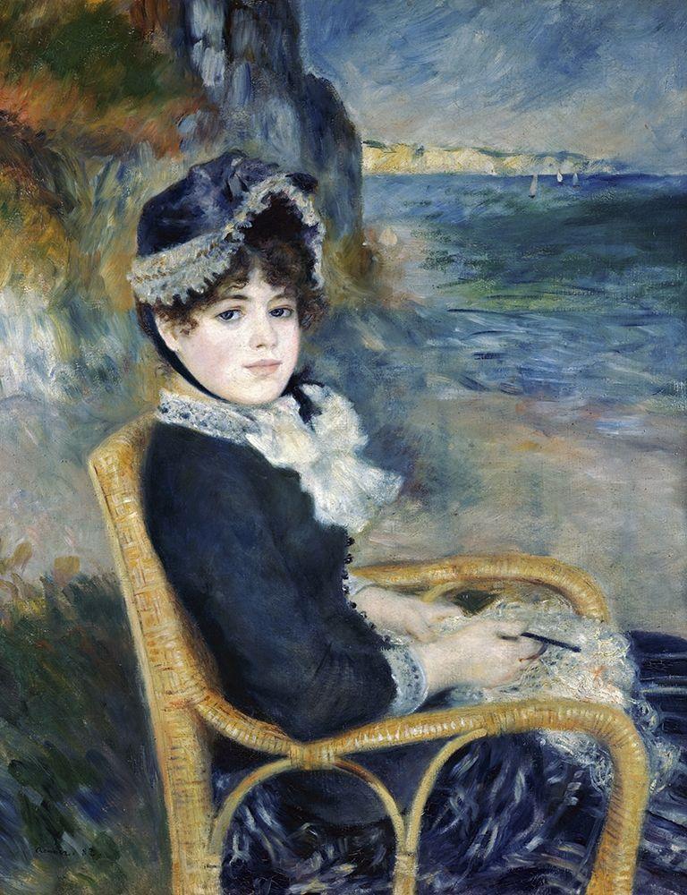 konfigurieren des Kunstdrucks in Wunschgröße By the Seashore von Renoir, Pierre-Auguste