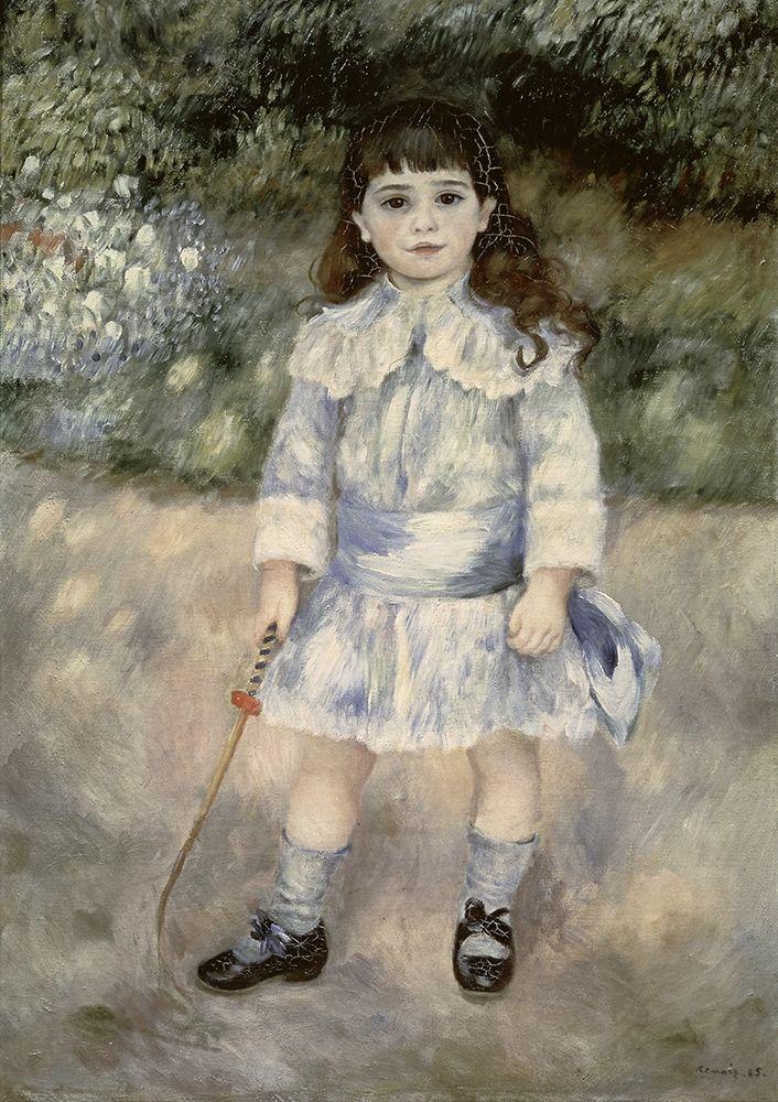 konfigurieren des Kunstdrucks in Wunschgröße Child With a Whip von Renoir, Pierre-Auguste