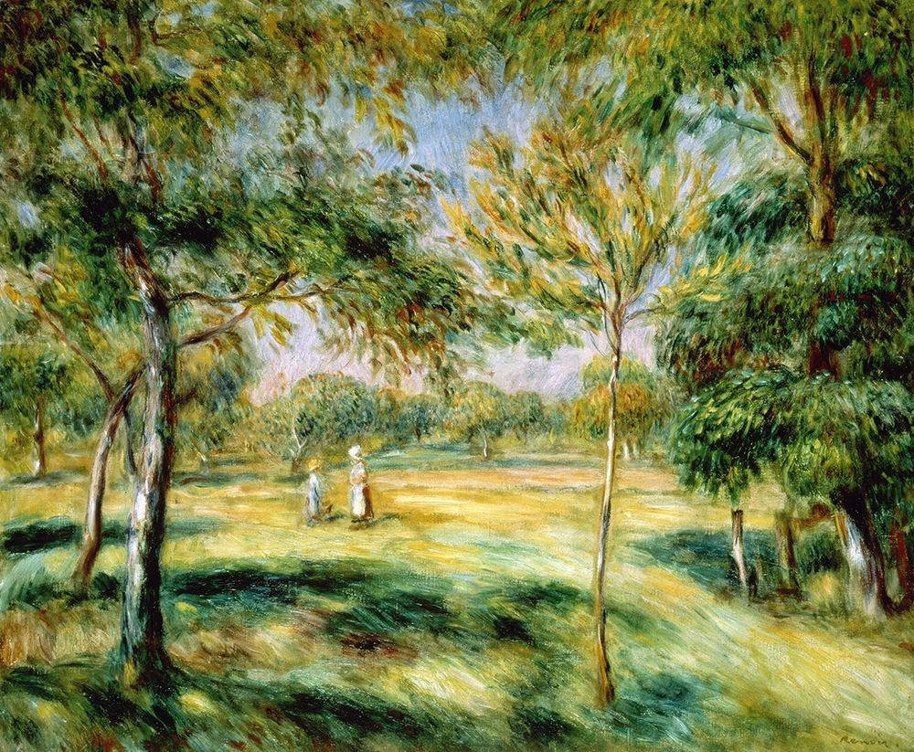 konfigurieren des Kunstdrucks in Wunschgröße Clairiere von Renoir, Pierre-Auguste