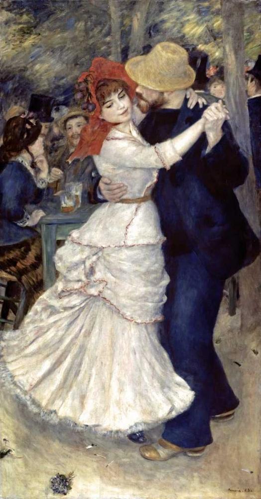 konfigurieren des Kunstdrucks in Wunschgröße Dance at Bougival von Renoir, Pierre-Auguste