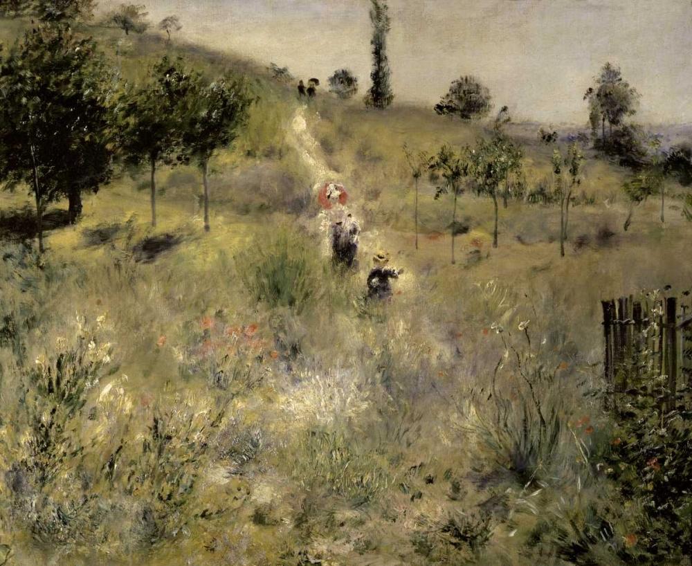 Path Through the Tall Grasses von Renoir, Pierre-Auguste <br> max. 97 x 79cm <br> Preis: ab 10€