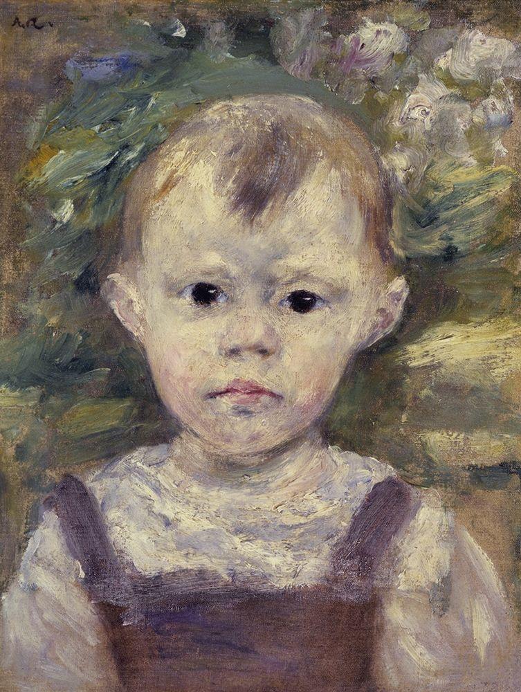 konfigurieren des Kunstdrucks in Wunschgröße Portrait Of A Little Boy von Renoir, Pierre-Auguste