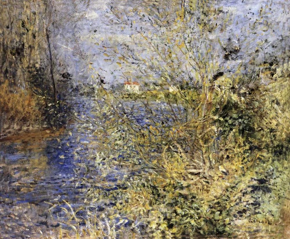 The Seine at Argenteuil von Renoir, Pierre-Auguste <br> max. 99 x 81cm <br> Preis: ab 10€