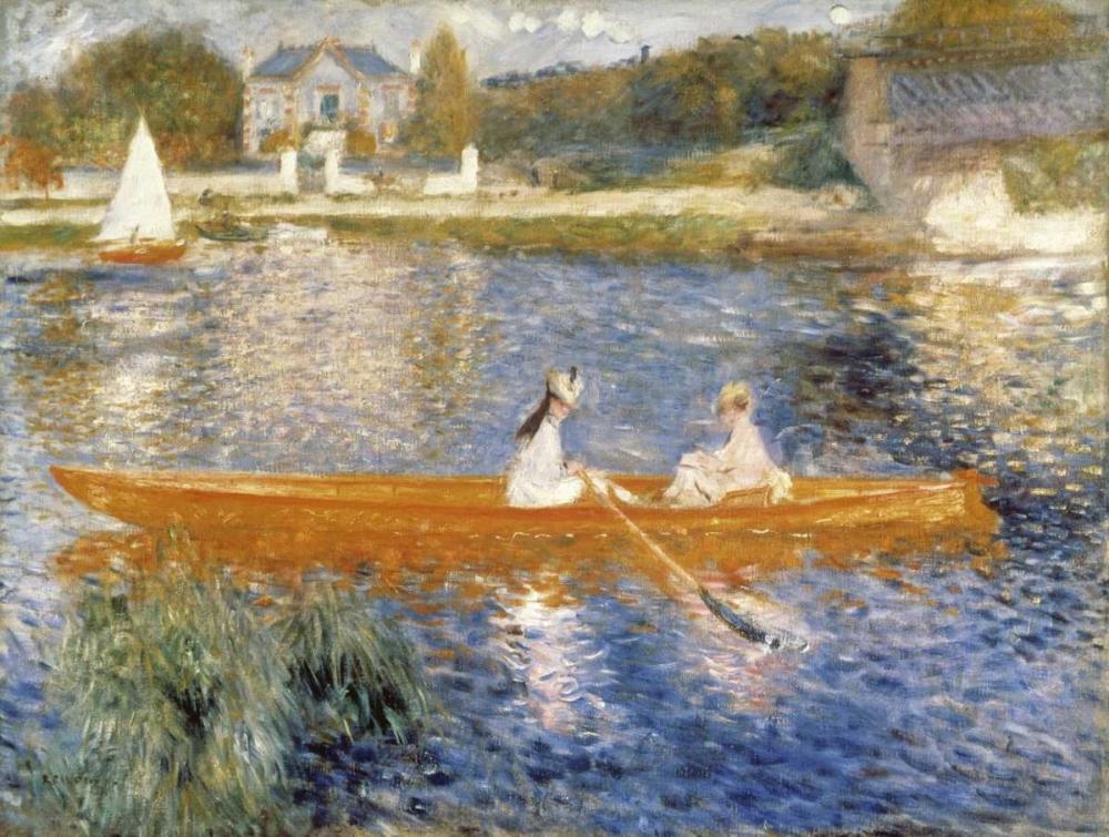 The Seine at Asnieres von Renoir, Pierre-Auguste <br> max. 99 x 74cm <br> Preis: ab 10€