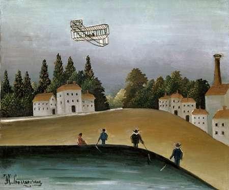 konfigurieren des Kunstdrucks in Wunschgröße Fishermen with their Lines von Rousseau, Henri