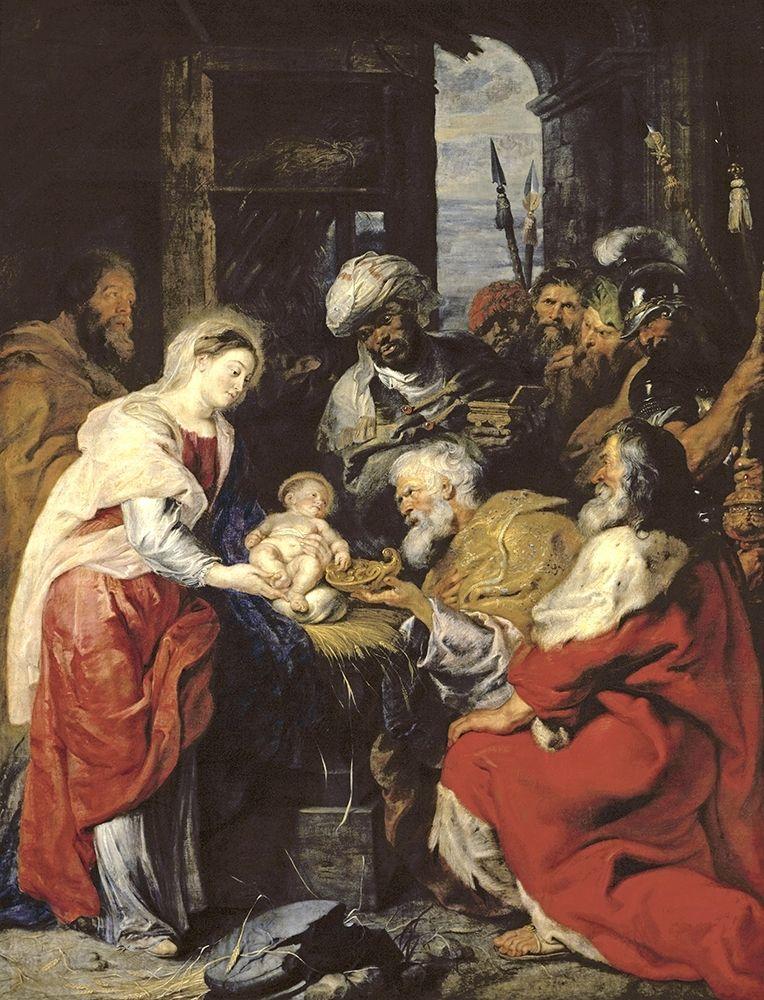 konfigurieren des Kunstdrucks in Wunschgröße Adoration of the Kings von Rubens, Peter Paul