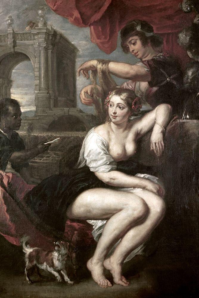 konfigurieren des Kunstdrucks in Wunschgröße Bathsheba at the Spring von Rubens, Peter Paul
