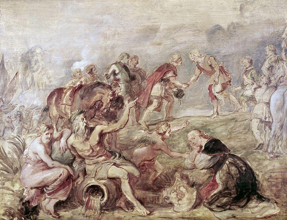 konfigurieren des Kunstdrucks in Wunschgröße Meeting of The Two Ferdinands von Rubens, Peter Paul