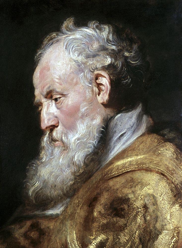 konfigurieren des Kunstdrucks in Wunschgröße Saint Ambrose von Rubens, Peter Paul