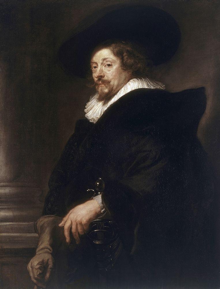 konfigurieren des Kunstdrucks in Wunschgröße Self-Portrait von Rubens, Peter Paul