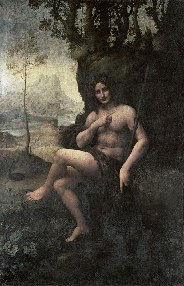 konfigurieren des Kunstdrucks in Wunschgröße Bacchus von Da Vinci, Leonardo