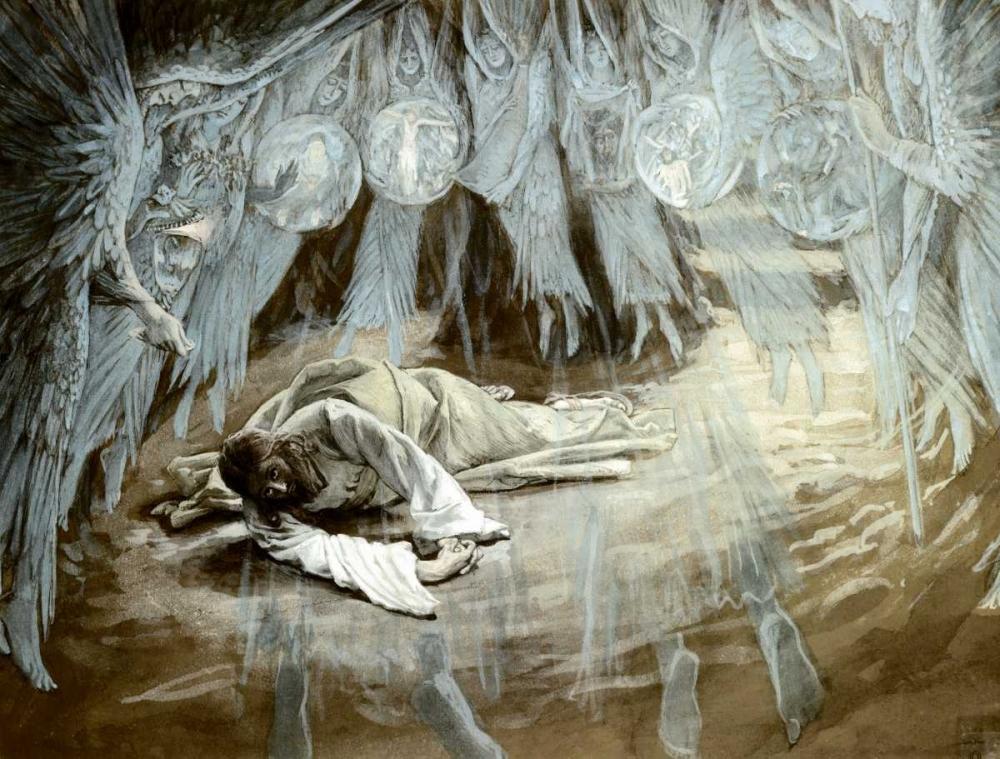 Agony In The Garden von Tissot, James Jacques <br> max. 102 x 76cm <br> Preis: ab 10€