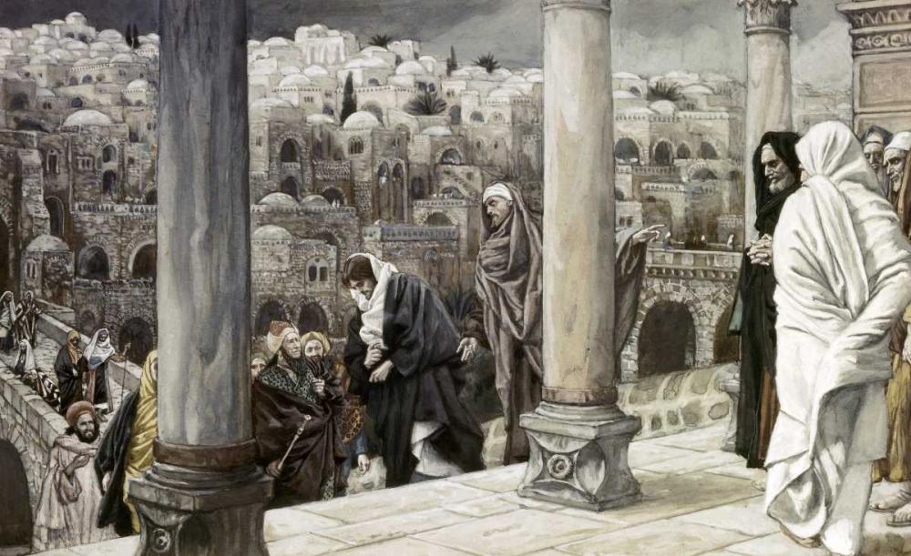 konfigurieren des Kunstdrucks in Wunschgröße Gentiles Ask To See Jesus von Tissot, James Jacques