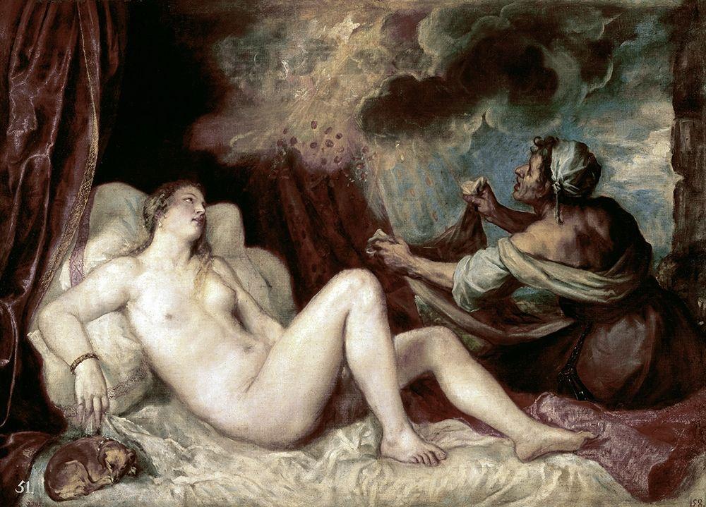 konfigurieren des Kunstdrucks in Wunschgröße Diana von Titian