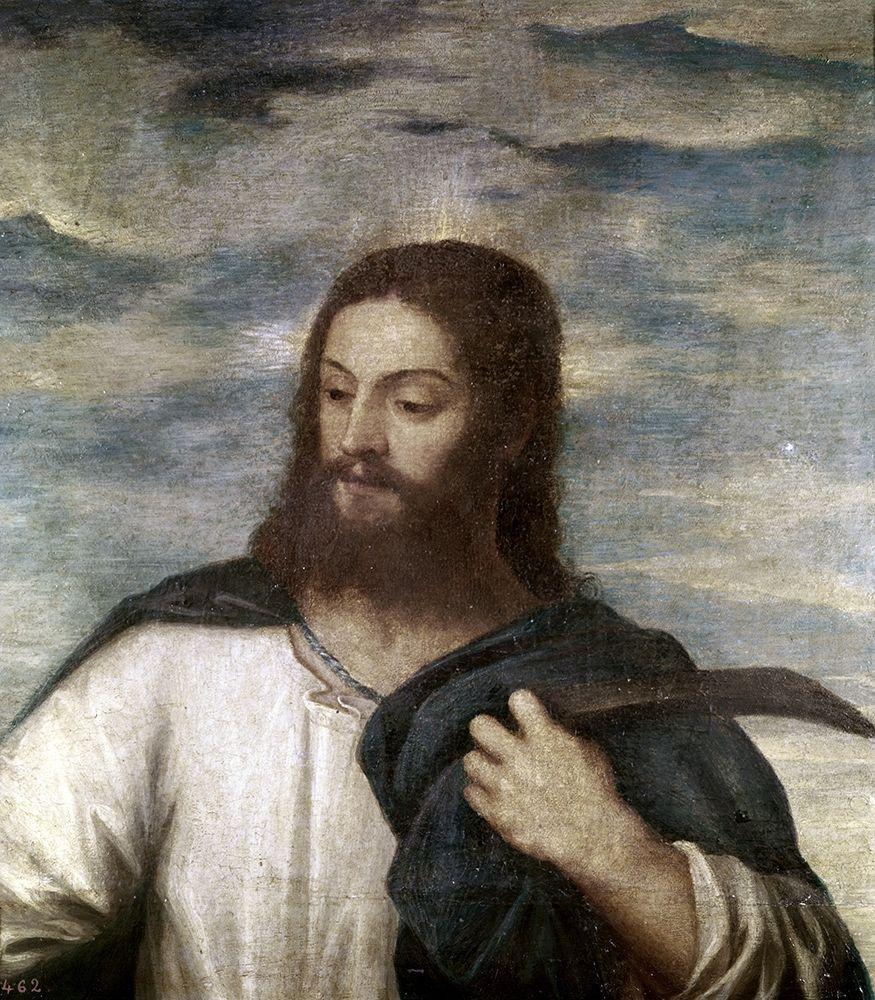 konfigurieren des Kunstdrucks in Wunschgröße Our Saviour von Titian