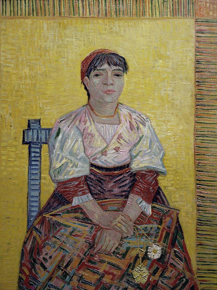 konfigurieren des Kunstdrucks in Wunschgröße An Italian Woman von Van Gogh, Vincent