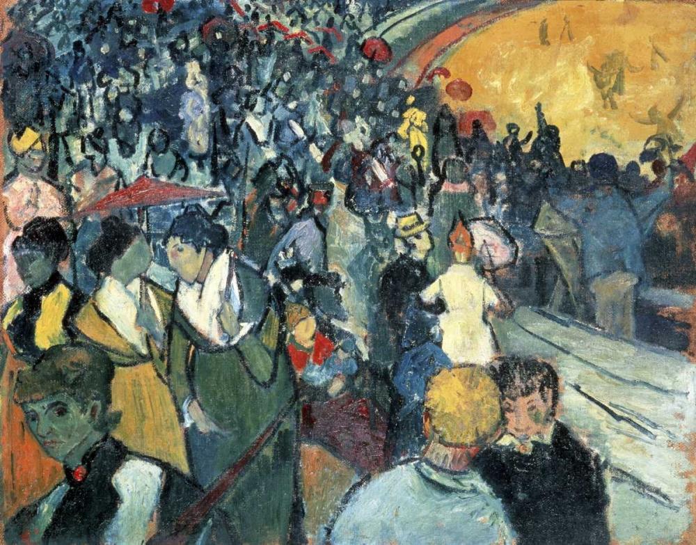 konfigurieren des Kunstdrucks in Wunschgröße Arena in Arles von Van Gogh, Vincent