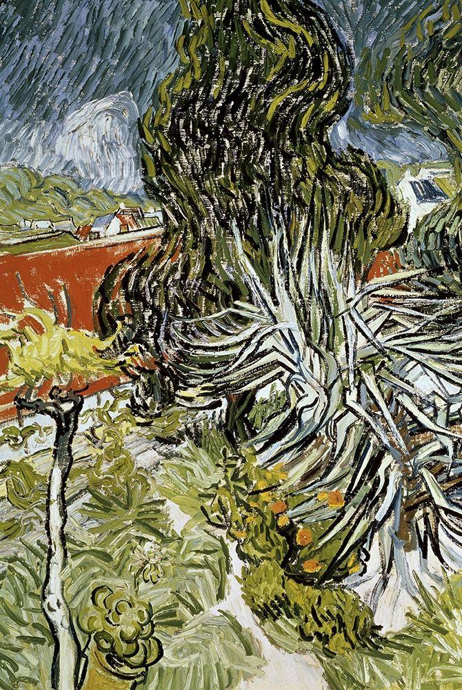 konfigurieren des Kunstdrucks in Wunschgröße Dr Gachets Garden at Auvers-Sur-Oise von Van Gogh, Vincent