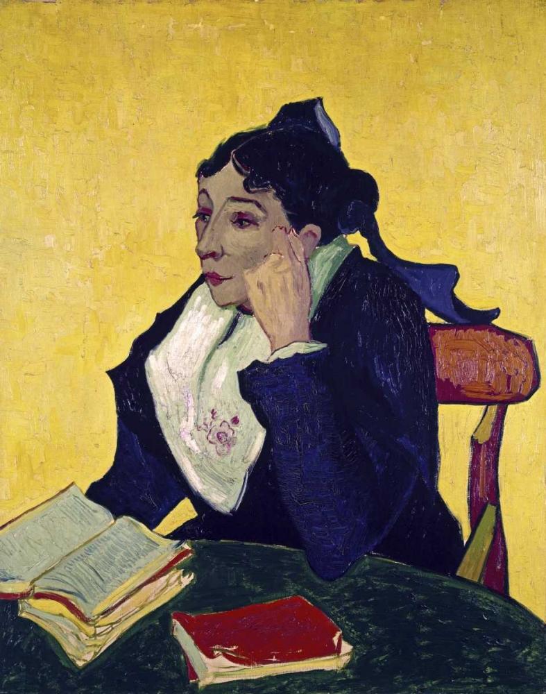 konfigurieren des Kunstdrucks in Wunschgröße LArlesienne: Madame Joseph Michel Ginoux von Van Gogh, Vincent