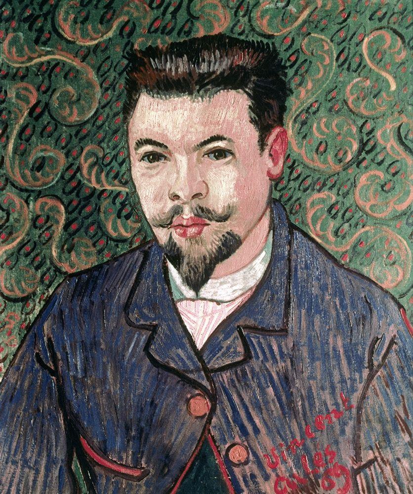 konfigurieren des Kunstdrucks in Wunschgröße Portrait of Doctor Felix Rey von Van Gogh, Vincent