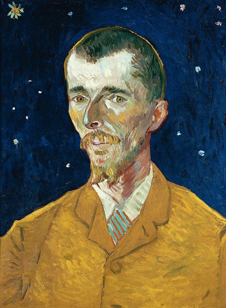 konfigurieren des Kunstdrucks in Wunschgröße Portrait of Eugene Boch von Van Gogh, Vincent